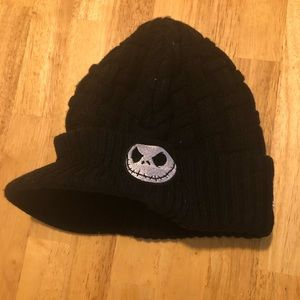 Nightmare Before Christmas Brimmed Beanie